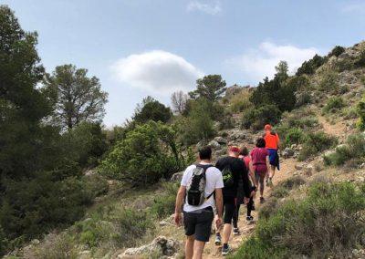 Elche de la Sierra a Peñarrubia